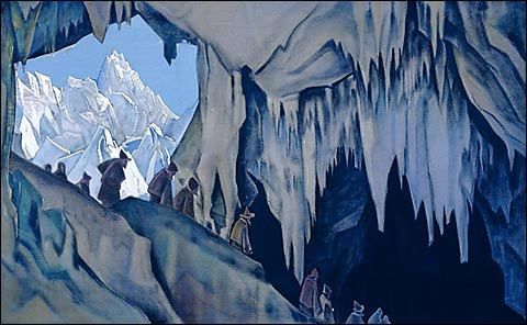 Roerich Painting